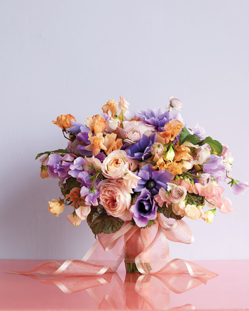Opalescent Wedding Bouquet