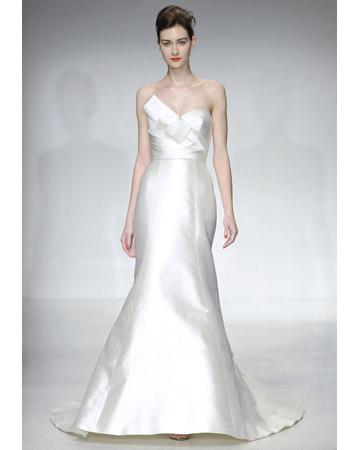 Trumpet Wedding Dresses from Spring 2012 Bridal Fashion Week
