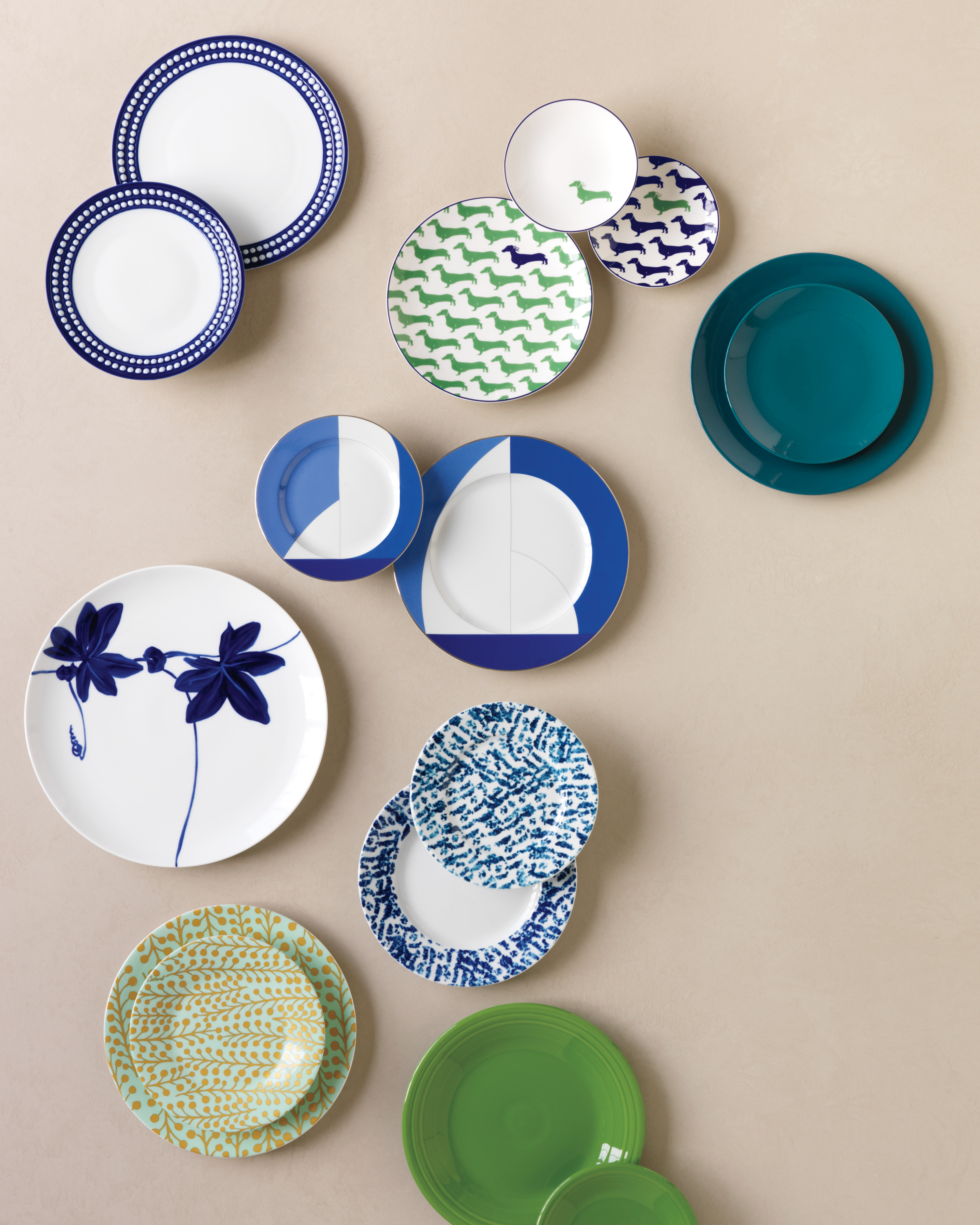 Cool and Chic China Patterns