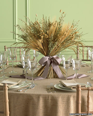 Wedding Harvest Centerpiece