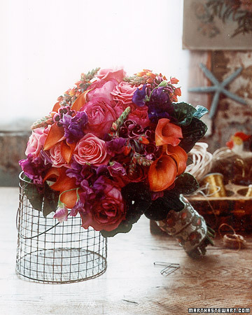 Bouquet with Opulent Color