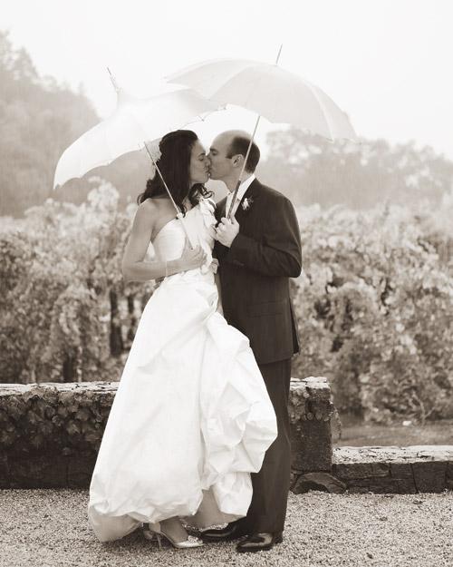 A White Formal Foodie Destination Wedding in California