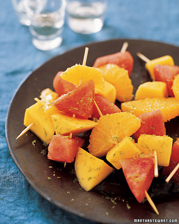 Tequila-Soaked Fruit