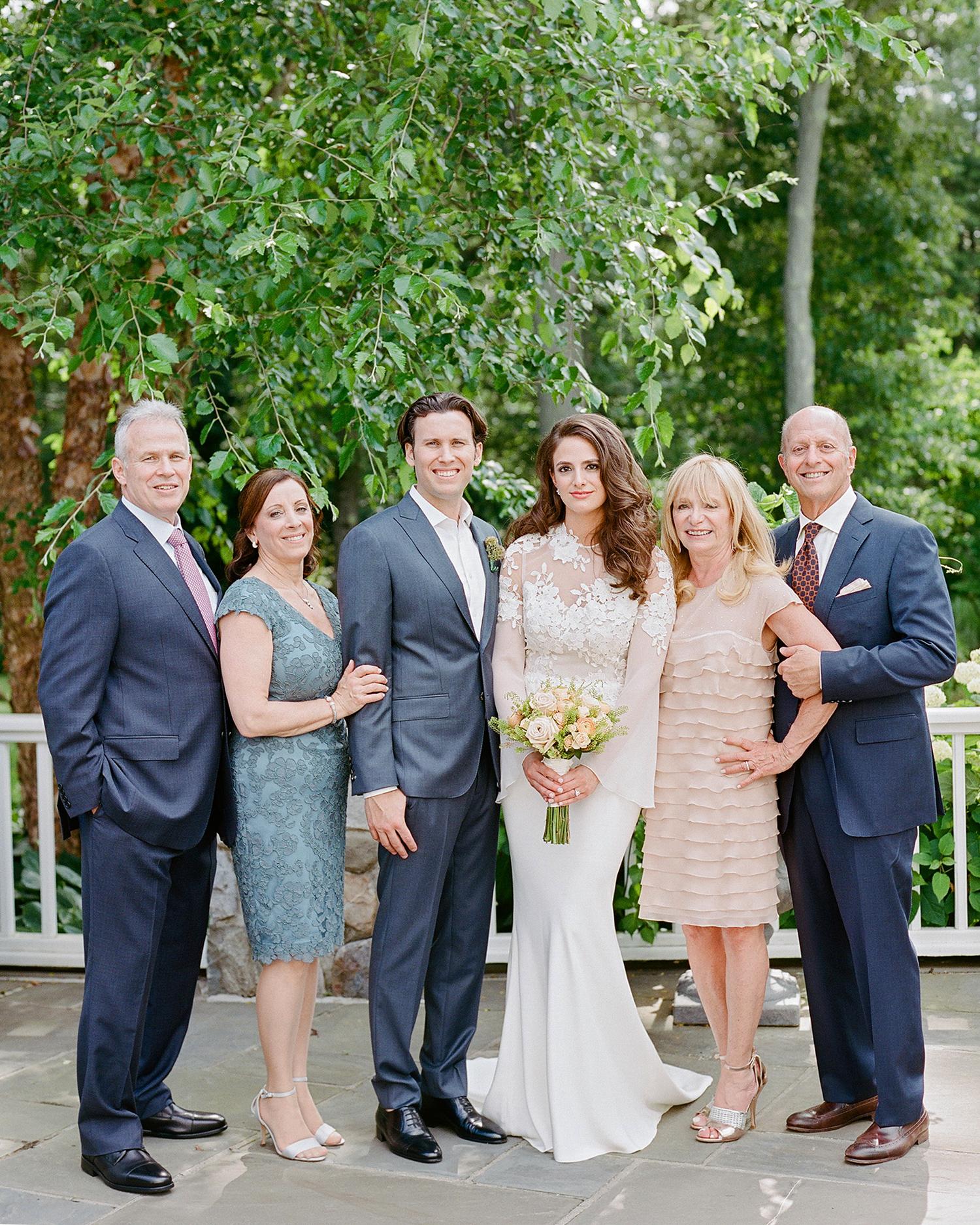 melissa michael couple with parents
