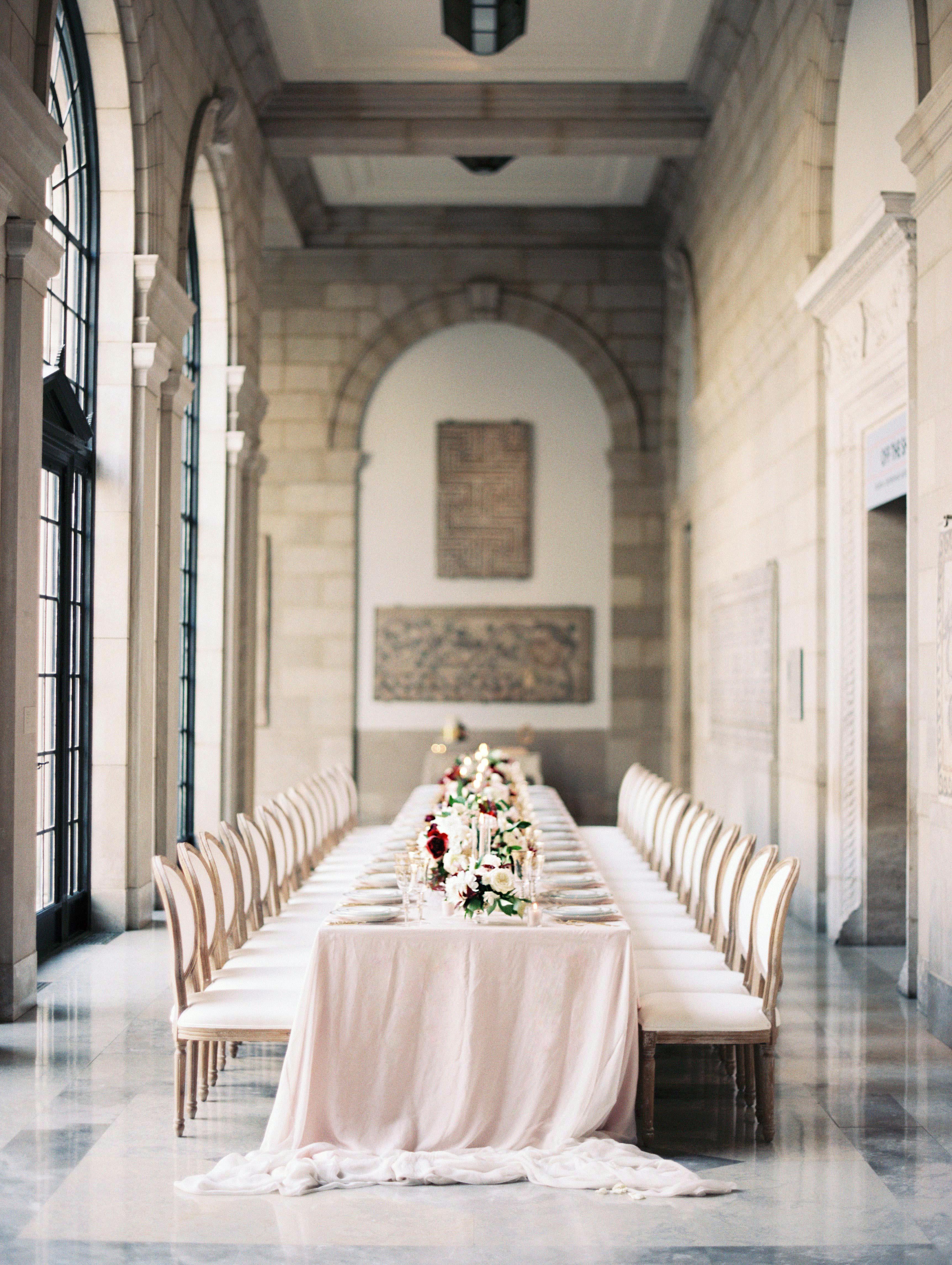 daniela emmanuel wedding maryland tables