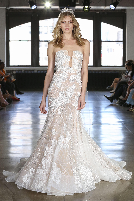 Watters trumpet wedding dress fall 2019