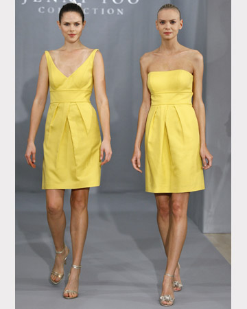 Yellow Short Dresses