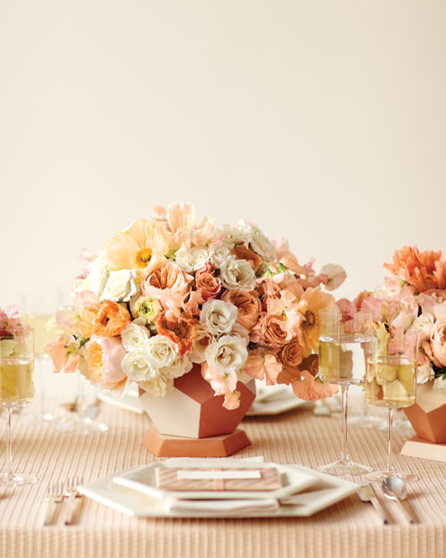 Peaches and Cream Is a Wedding Color Combination That Is Gloriously Memorable