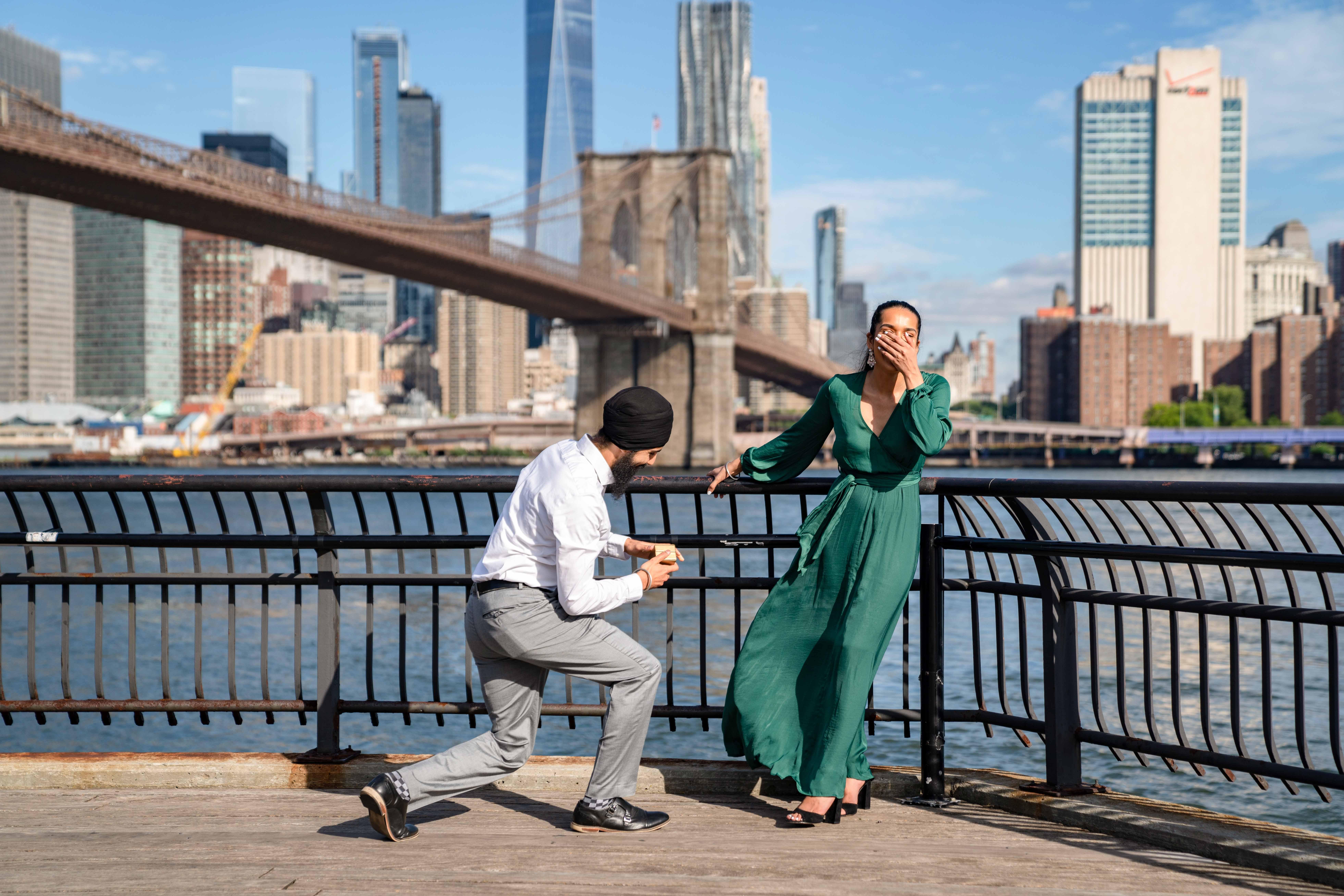 perfect proposals brooklyn bride park