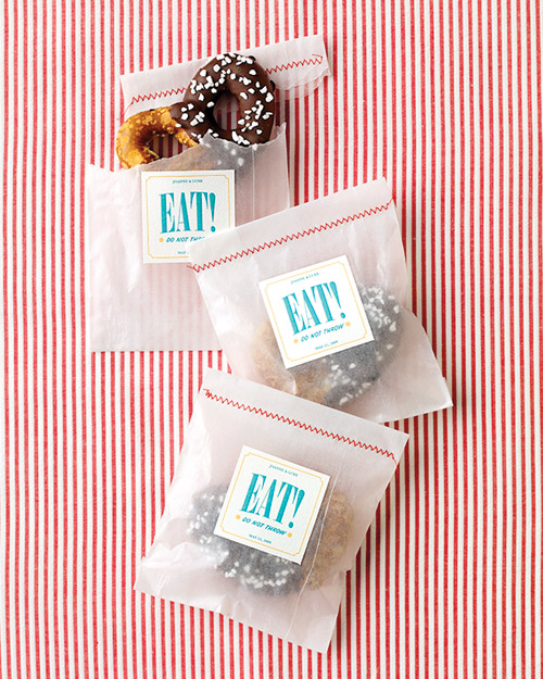Favor and Confetti Bag and Label How-To