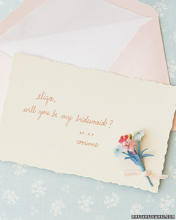 Keepsake Bridesmaid Requests