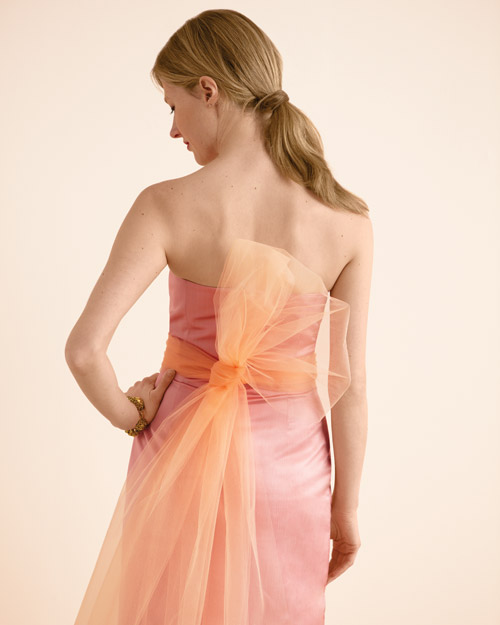 Bridesmaid Dress with Sash
