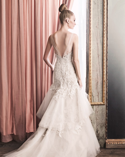 A Beautiful Wedding Dress with a Gorgeous Back