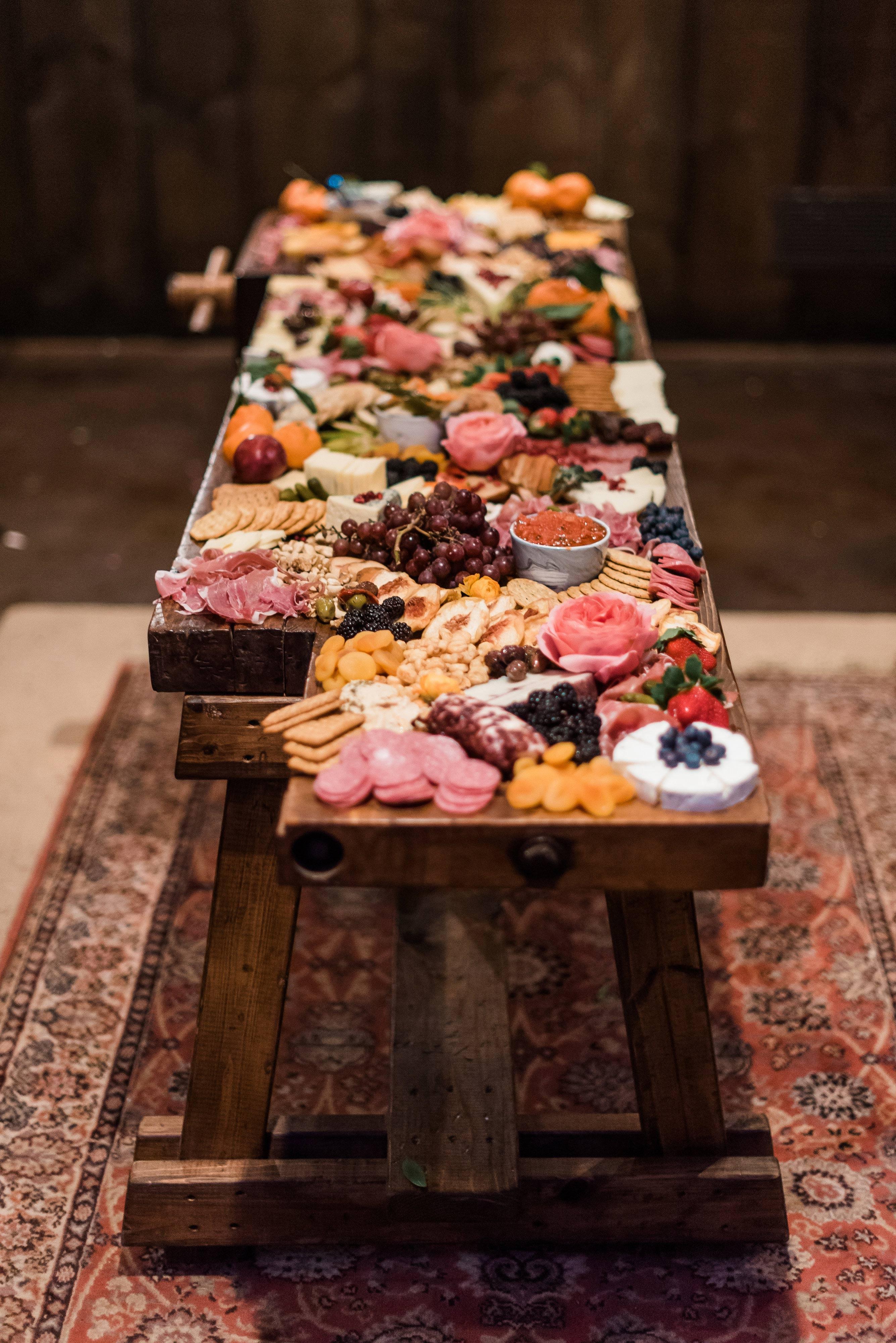 engagement party food dawn derbyshire