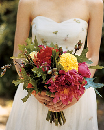 Bouquet with Deep Pink Flowers