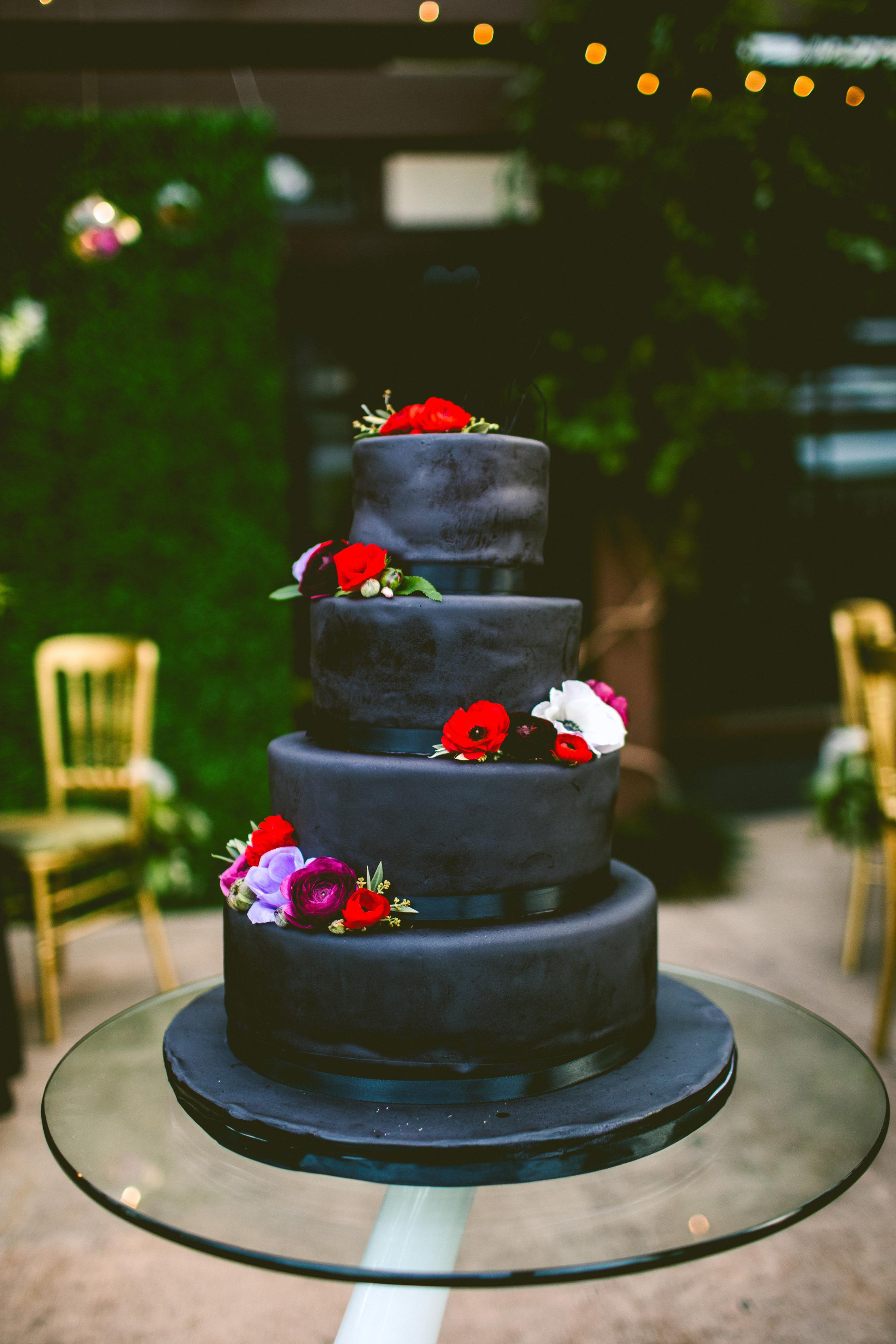 slanted cake