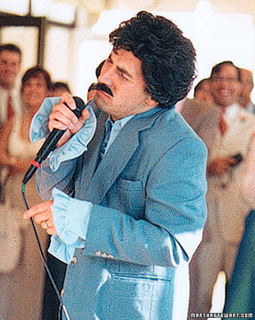 The Groom Becomes a Lounge Singer