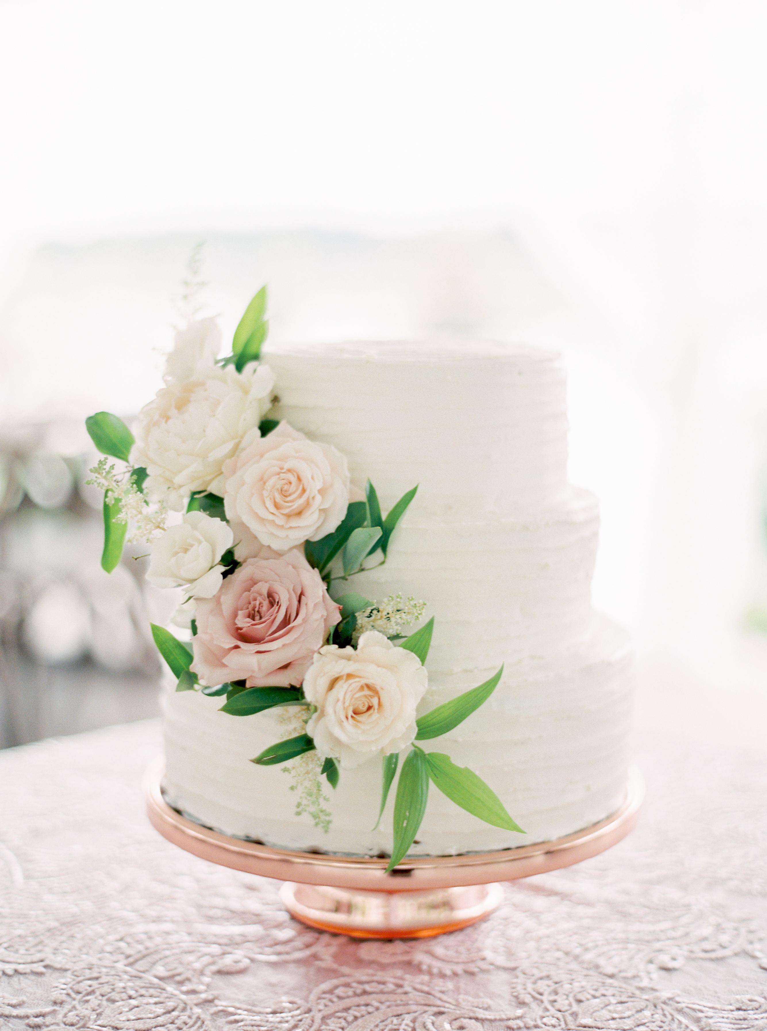 vanilla wedding cakes rebecca hollis