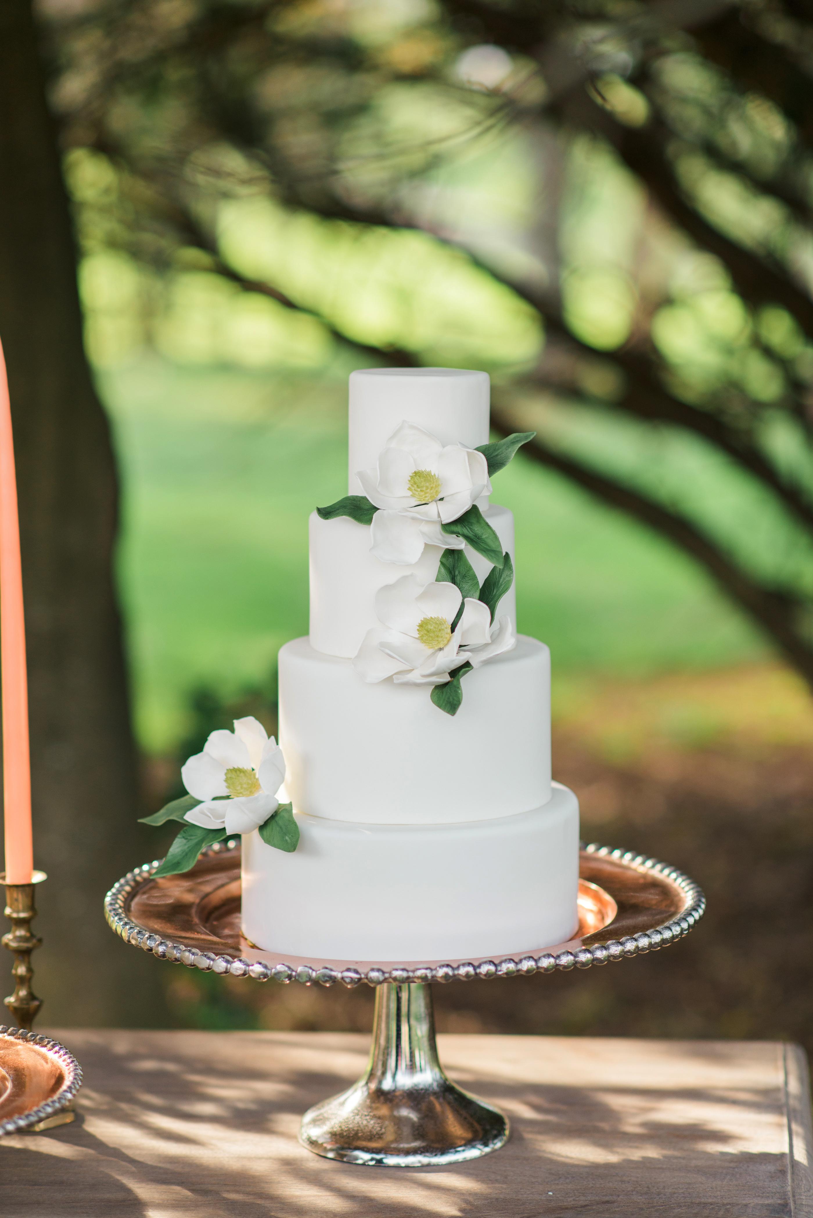vanilla wedding cakes joy michelle
