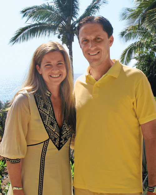 Elizabeth Graves, editor in chief, and Jeff Young, 2008