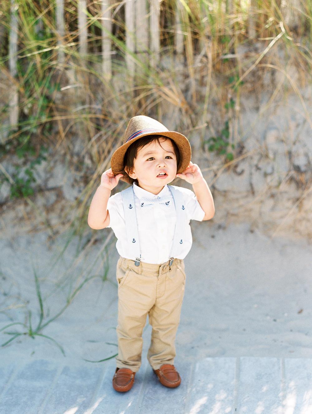 ring bearer hat nautical summer