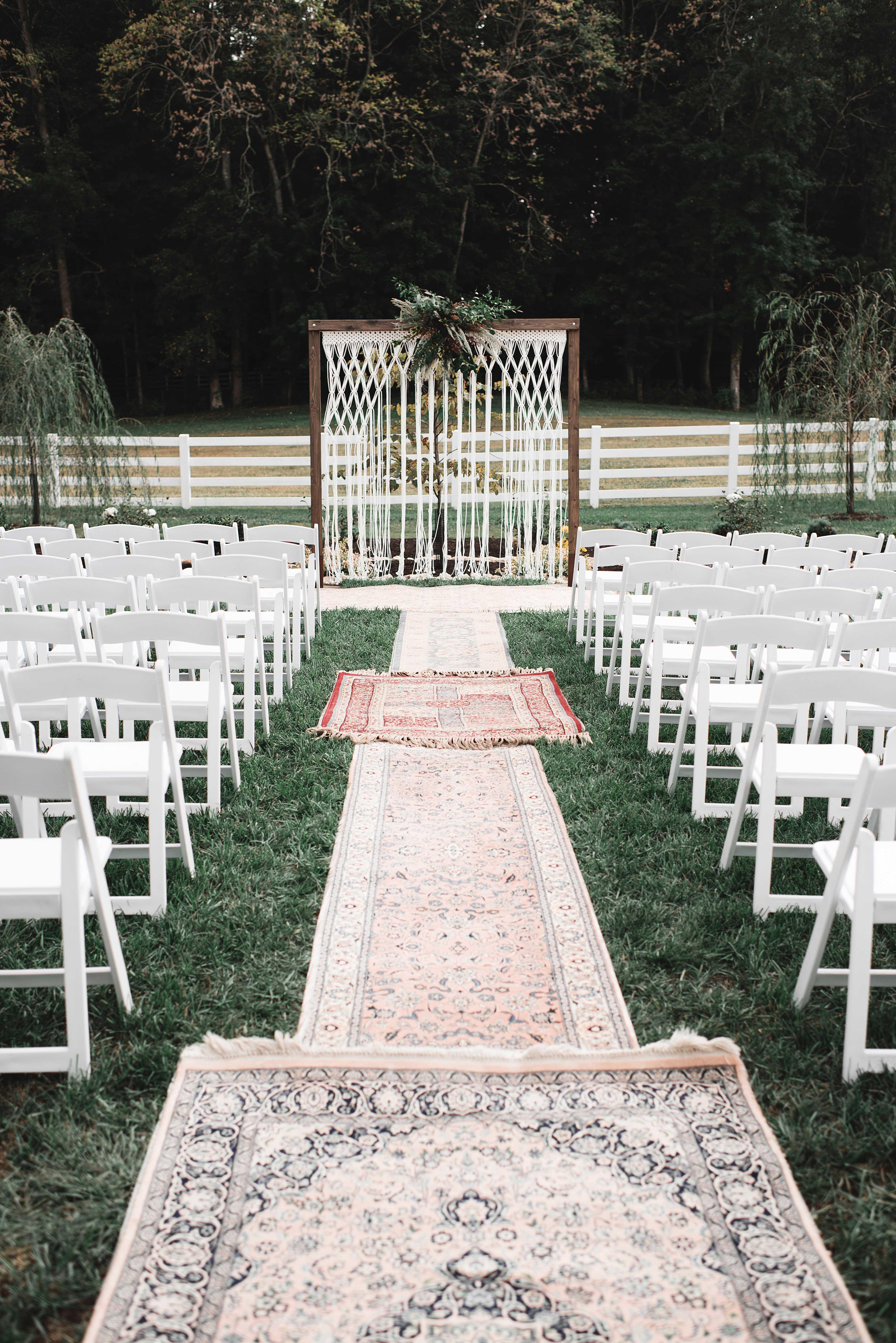 rugs ceremony site