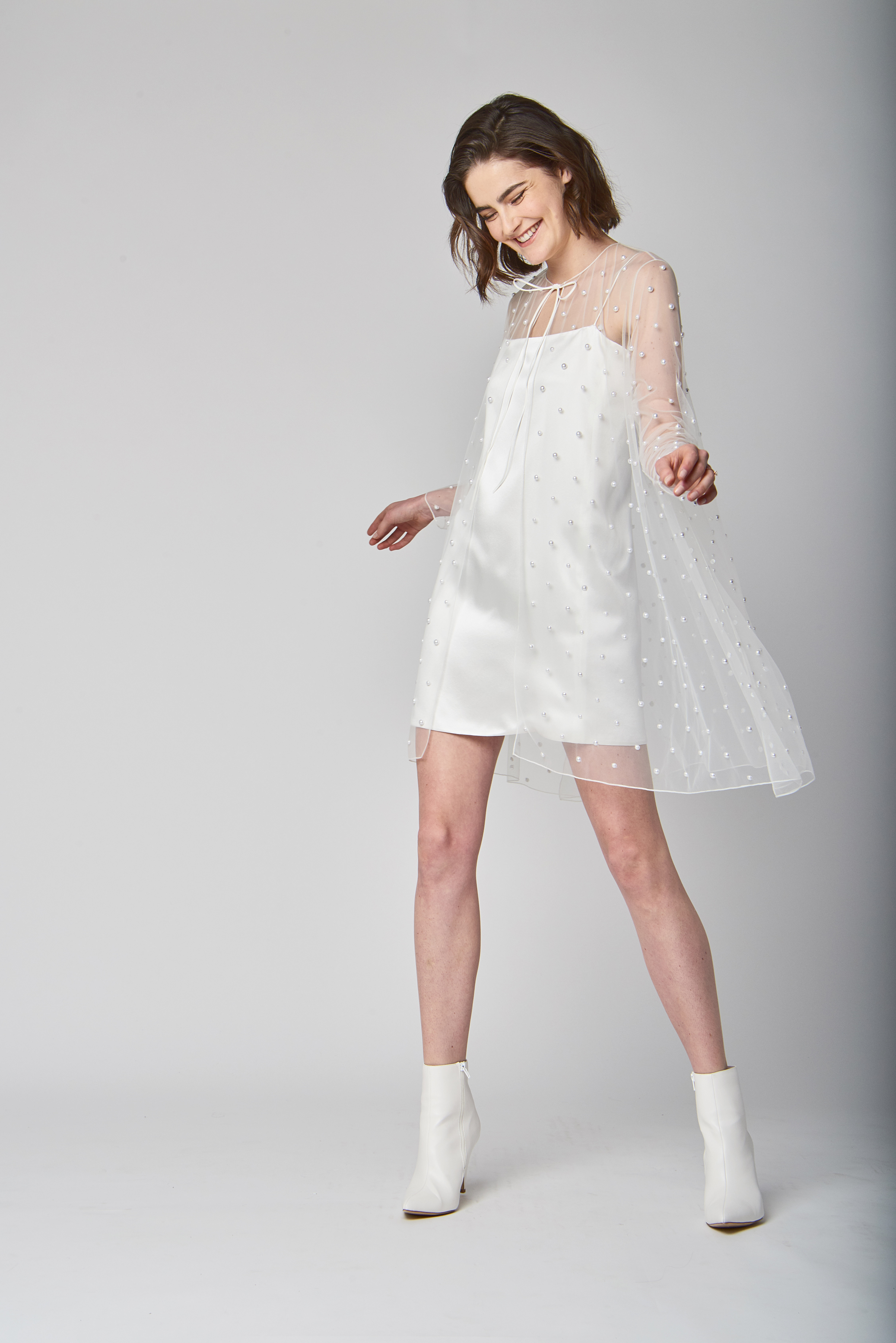 short alexandra grecco wedding dress spring 2019