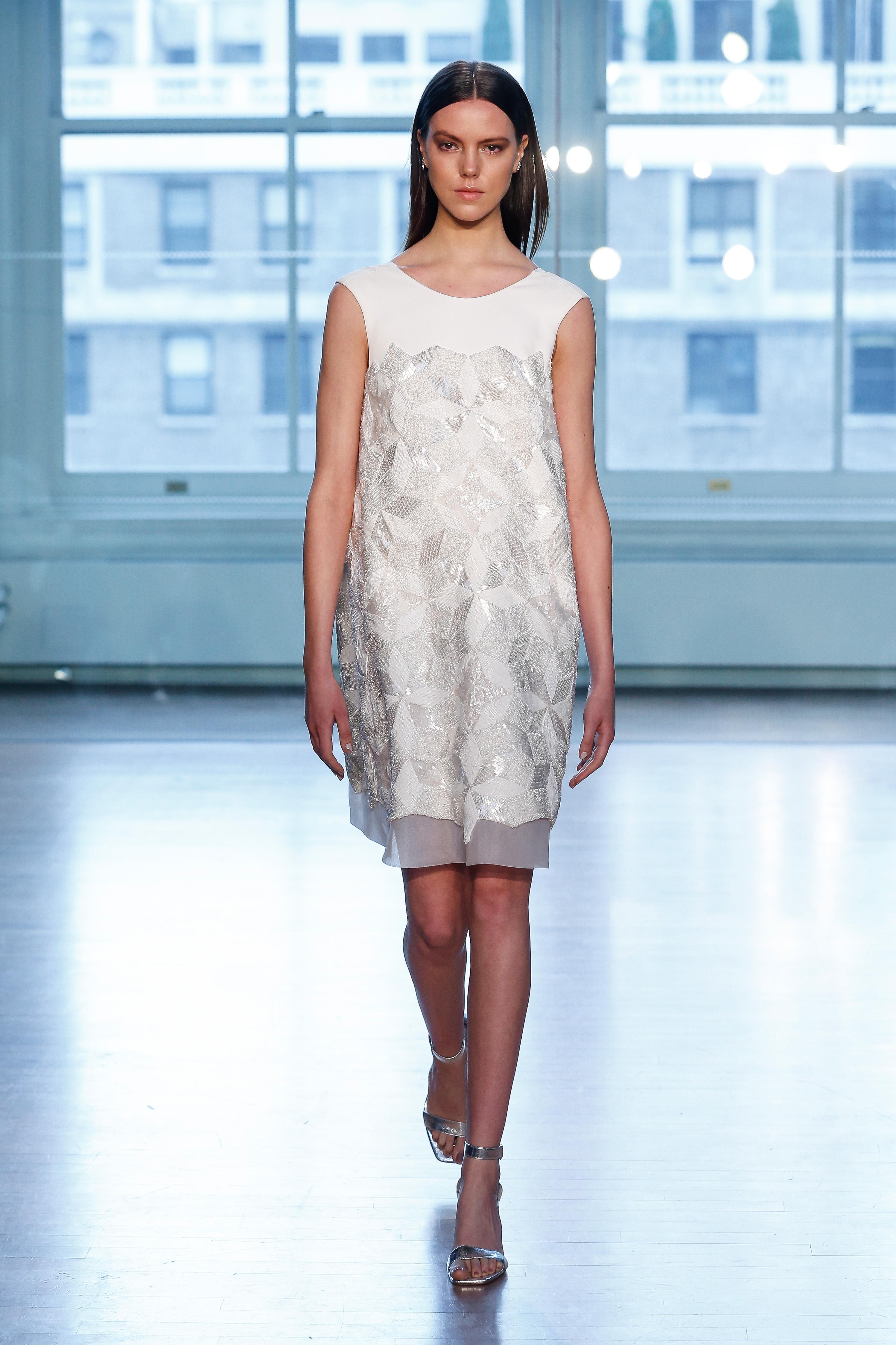 justin alexander wedding dress spring 2019 short column sleeveless