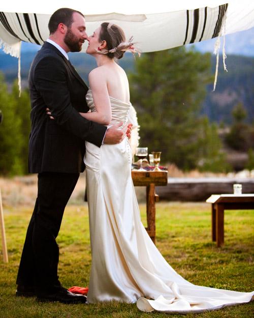 A Traditional Rustic Destination Wedding on a Ranch in Idaho