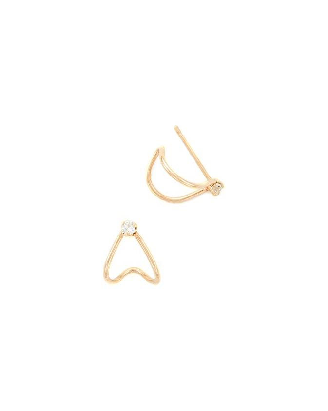 wedding earrings zoe chicco