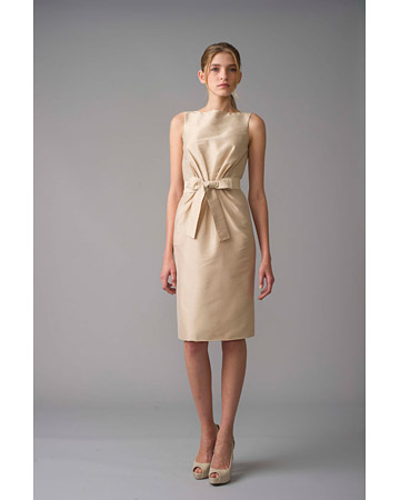 Short Taupe Dress