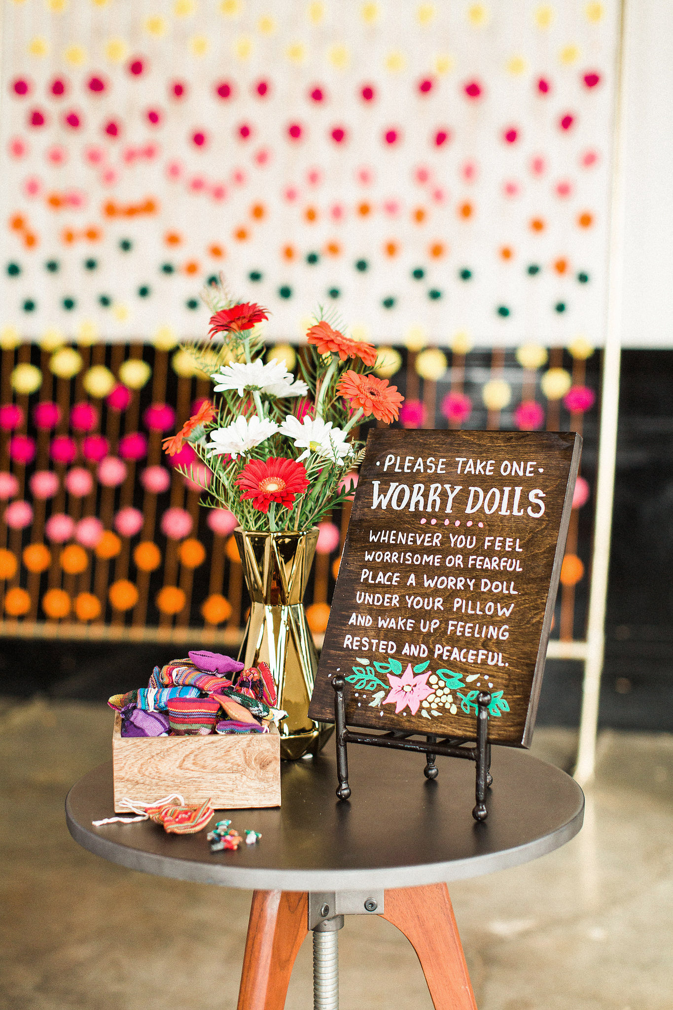 worry dolls wedding favors