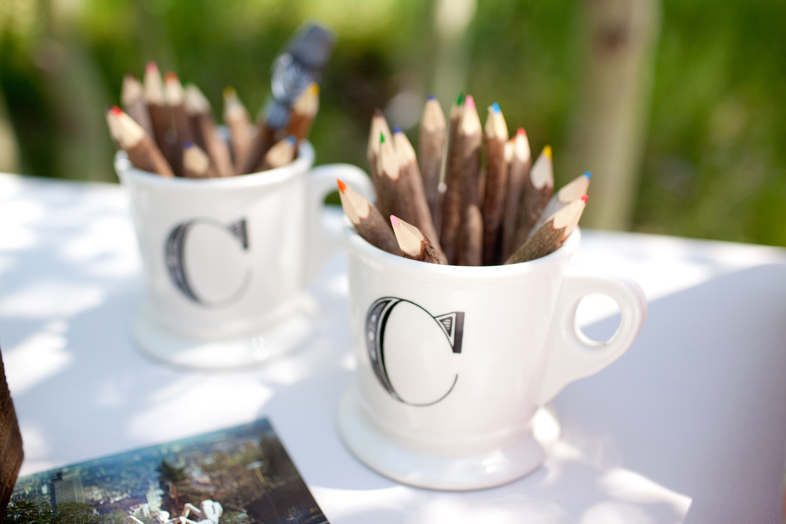 pencil wedding favors