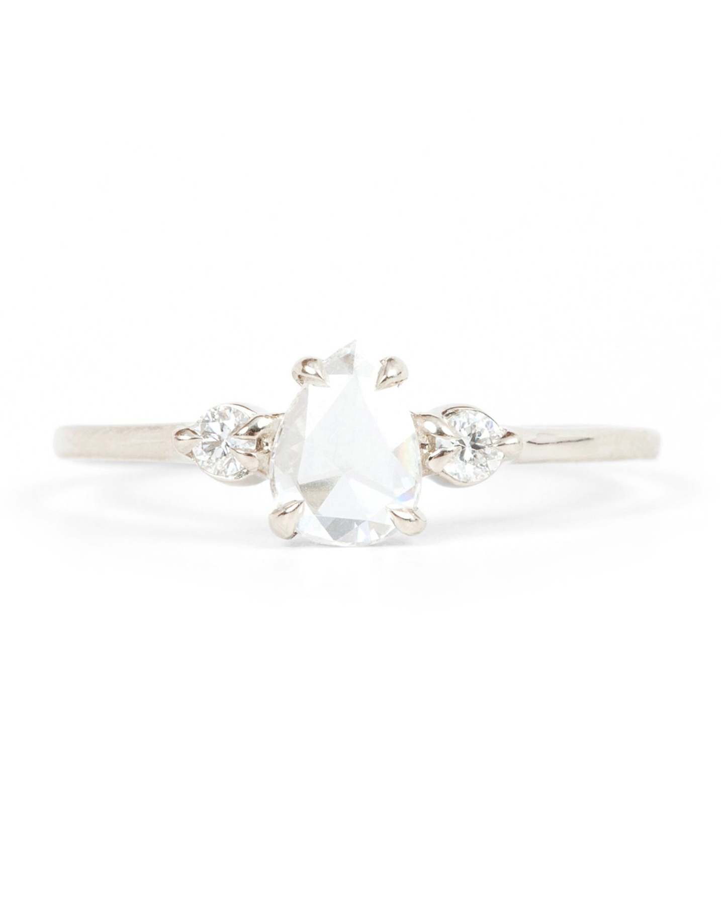 "Catbird Wedding ""Leda the Swan"" Ring"