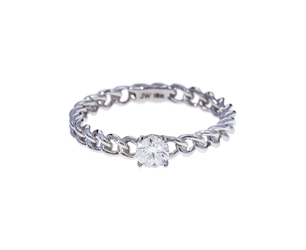 "Jemma Wynne ""Toujours"" Round Diamond Stacking Ding"