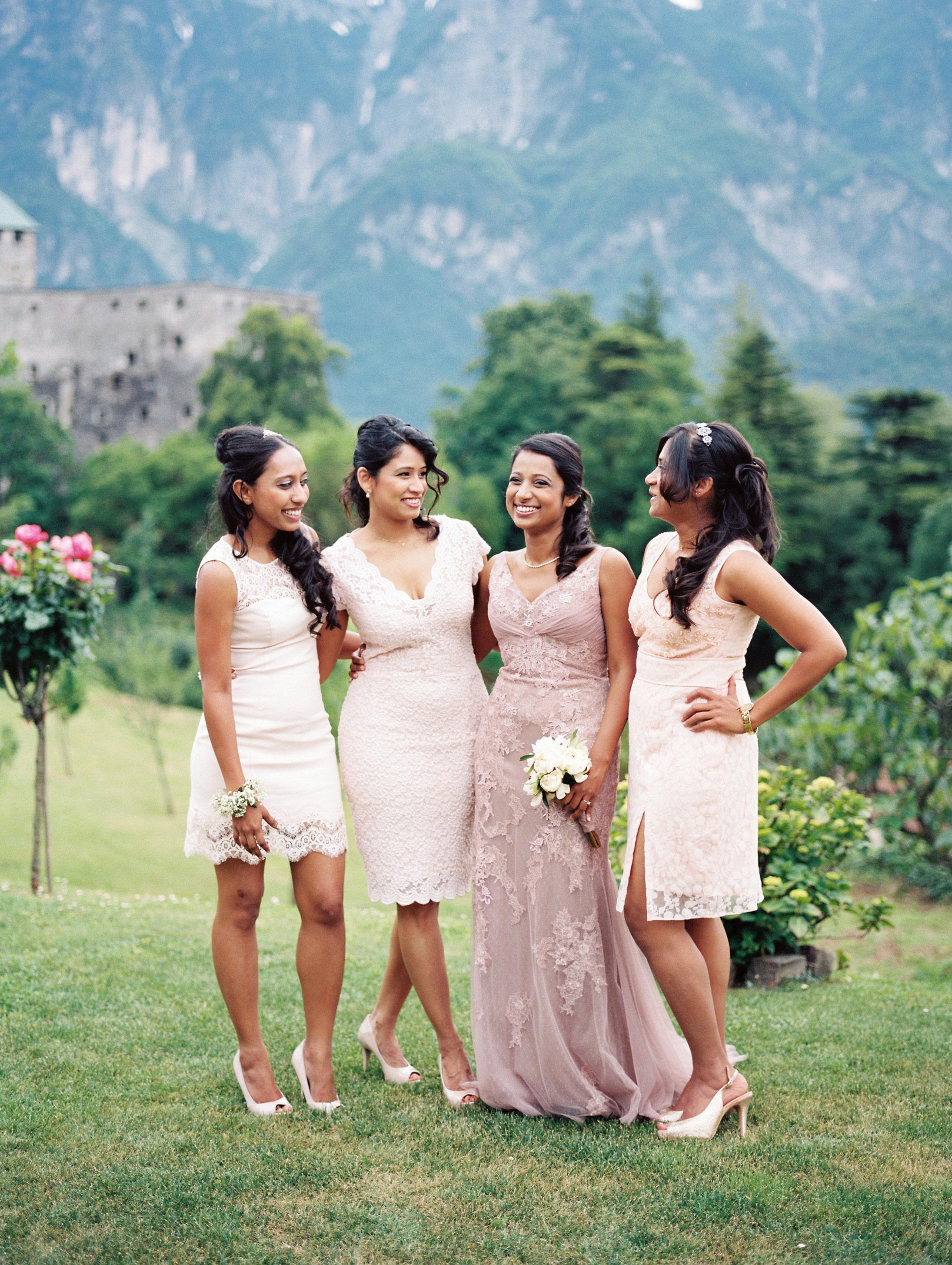 best dressed bridesmaids siegrid cain