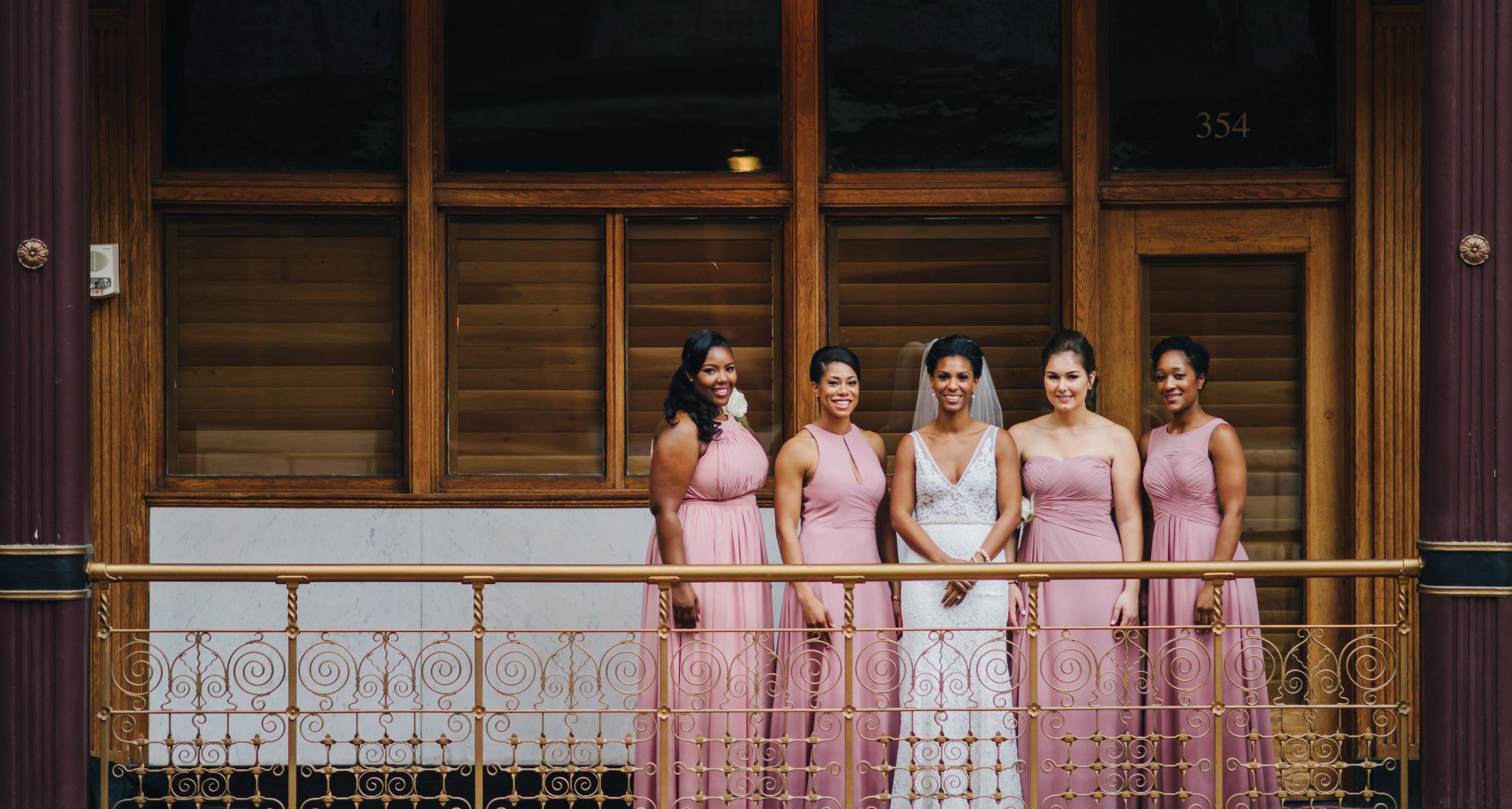 best dressed bridesmaids chi chi ari