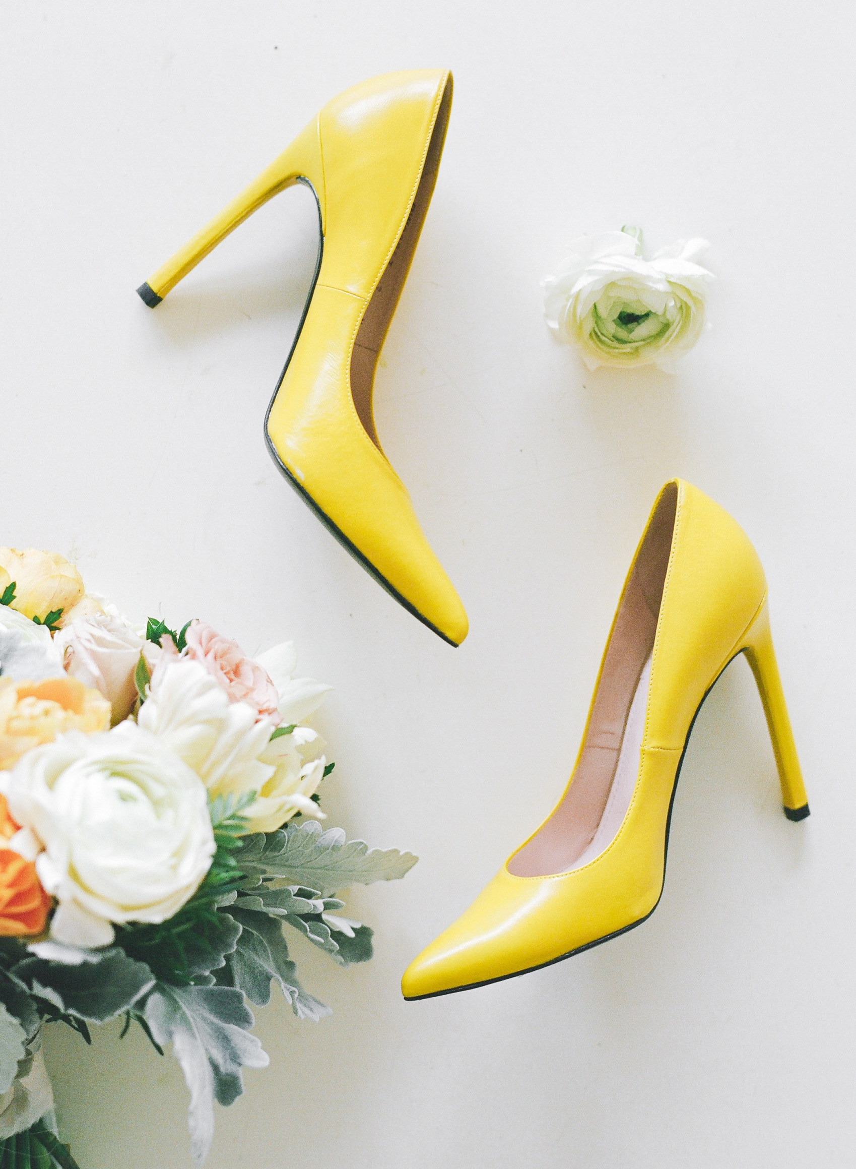 yellow wedding ideas rebecca yale