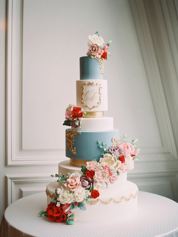 monogram wedding cake charla storey sugar bee sweets