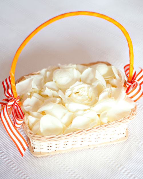 The Flower Girl's Basket