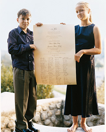 The Wedding Certificate