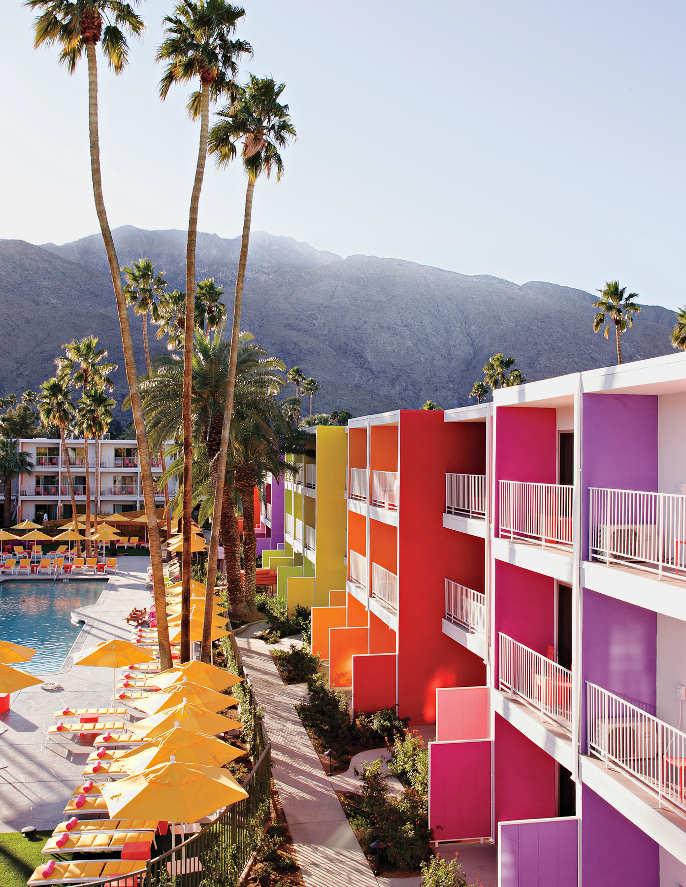 colorful hotel