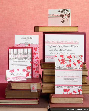 Seasonal Wedding Stationery
