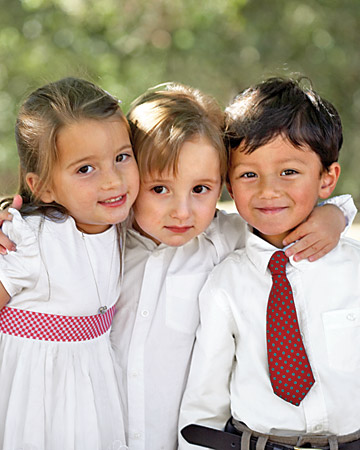 Flower Girl and Ring Bearers