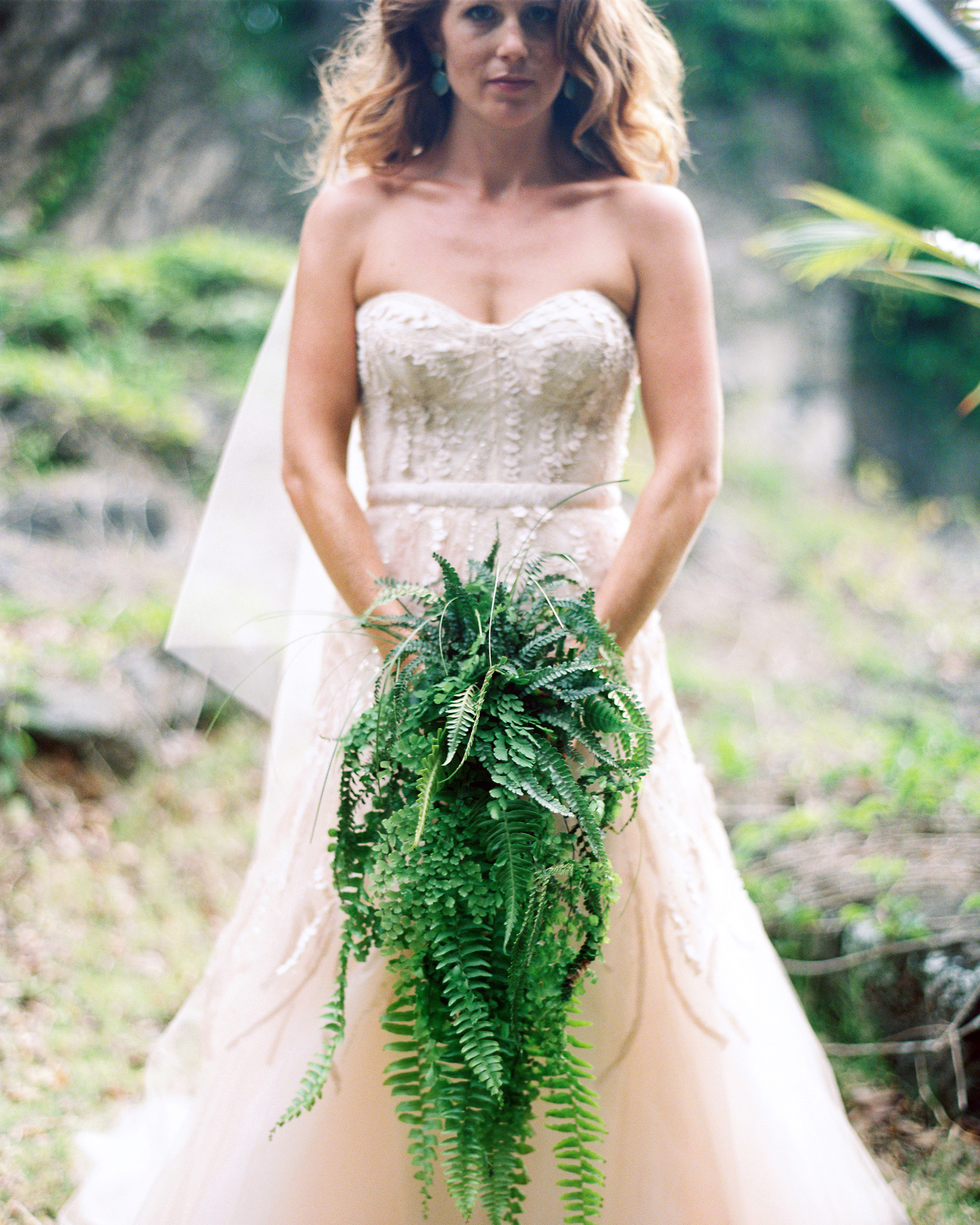 Cascading Fern Bouquet