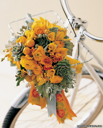 Wedding Colors: Marigold and Pewter