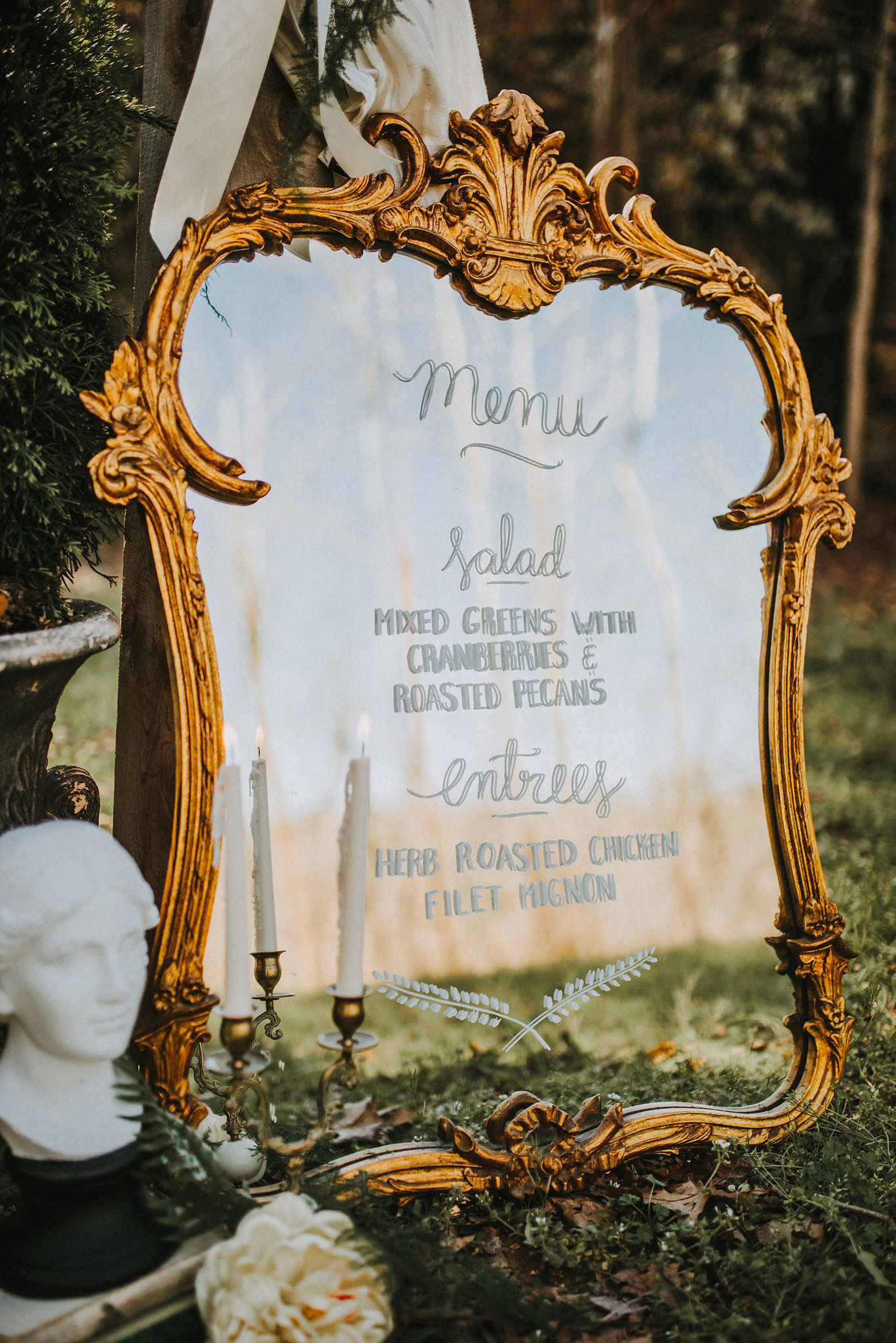 33 Pretty and Unexpected Wedding Menu Ideas