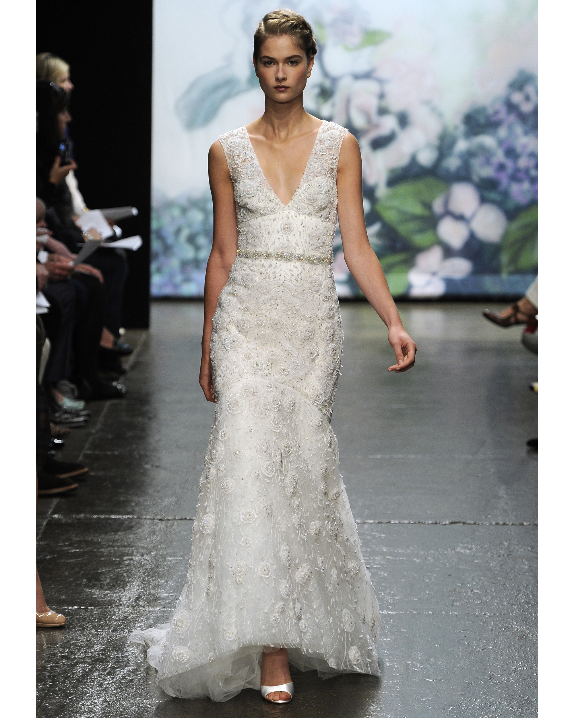 Glamorous Old Hollywood-Style Wedding Dresses, Fall 2012