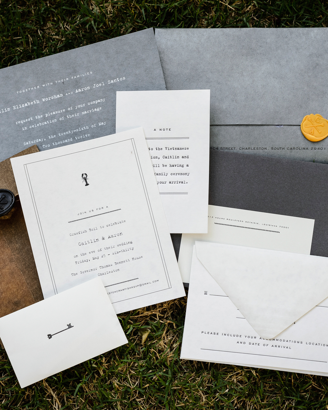 30 Modern Wedding Invitations We Love