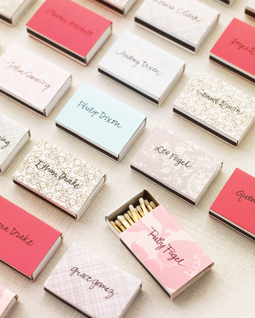 Favor Escort Card